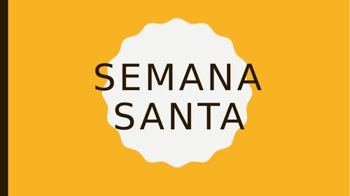 Semana santa (spanish easter)