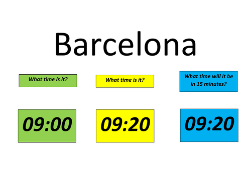 Time - Active maths