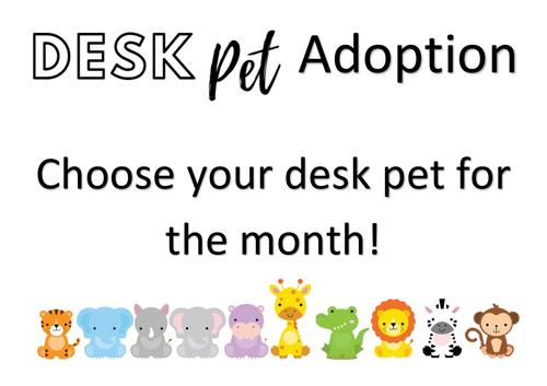 Desk Pet Bundle
