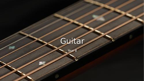 Classical Guitar Scheme of Work