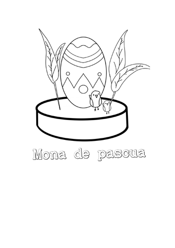 Semana santa, mona de pascua (spanish easter)