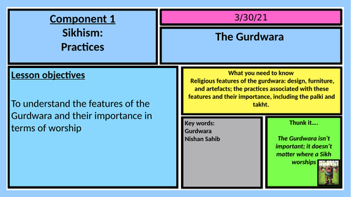 AQA RELIGIOUS STUDIES GCSE : SIKHISM PRACTISES