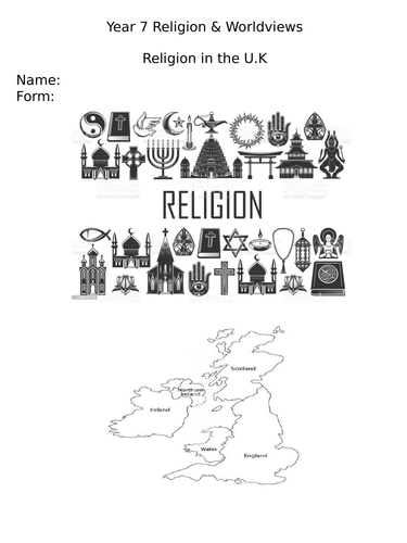 Religion and Worldviews - Religion in the UK
