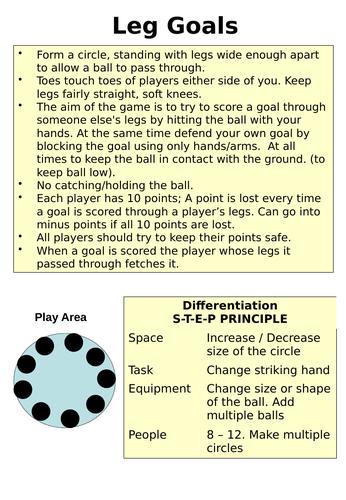 Circle Games Activities