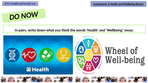 Component 3: Health and Wellbeing (LA A: Factors)