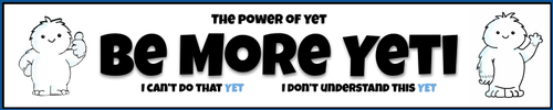 The Power of Yet - 4 Bookmarks for Growth Mindset