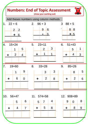 Revision of Number Types - 9 Worksheets with Answers