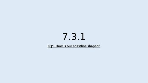 KS3 Coasts lesson1: Geomorphic processes