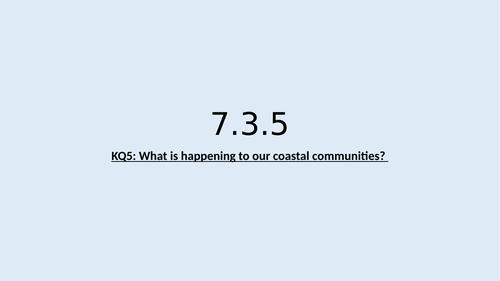 KS3 Coasts lesson 5: Coastal communities