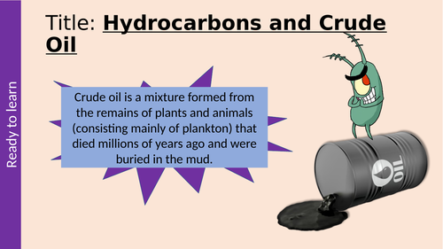 Hydrocarbons & Crude Oil GCSE Organic Chemistry AQA