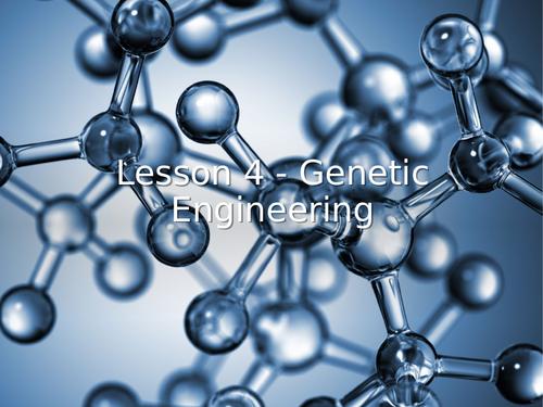 AQA GCSE Biology (9-1) B14.4 Genetic engineering - FULL LESSON