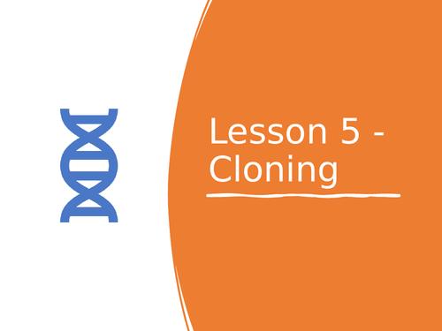 AQA GCSE Biology (9-1) B14.5 Cloning - FULL LESSON