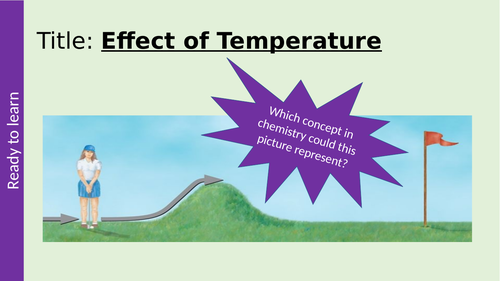 Effect of Temperature on Rate of Reaction GCSE AQA Chemistry