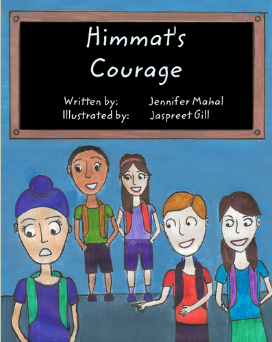 Full Children's Books- Himmat's Courage