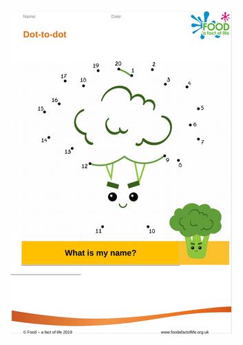 Dot to dot - Broccoli