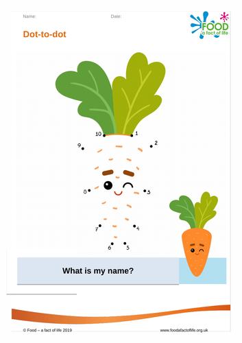 Dot to dot - Carrot