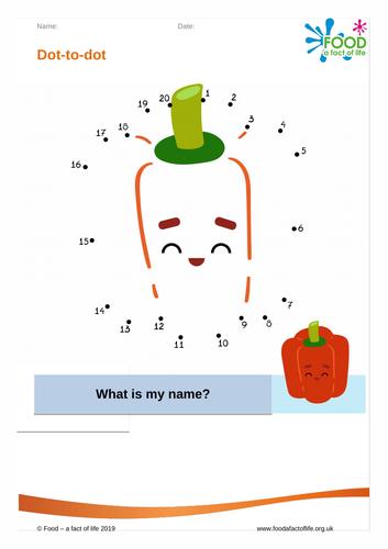 Dot to dot - Pepper