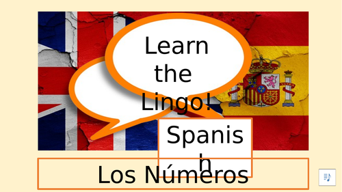 Learn the Lingo Spanish Numbers 1-12 (an introductory video, ideal for cover)