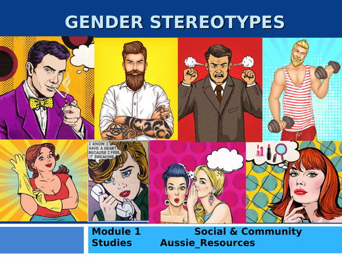 Social and Community Studies - Gender and Identity - Gender Stereotypes in the media