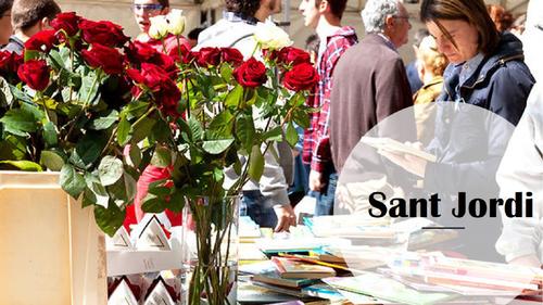Sant Jordi, día del libro (spanish)
