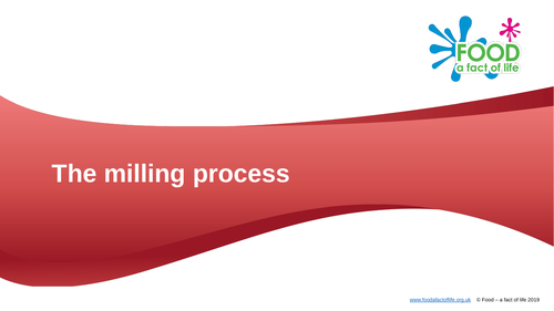 The milling process