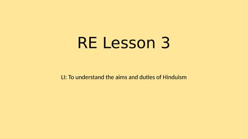 Hindu aims and duties
