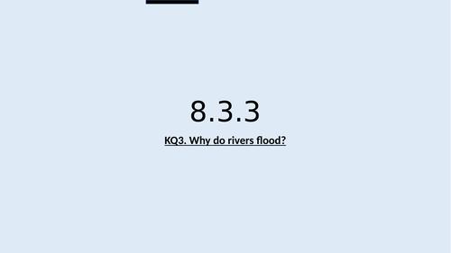 KS3 Rivers L3: Causes of flooding