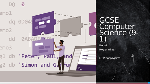 OCR GCSE CS - CS37: Subprograms