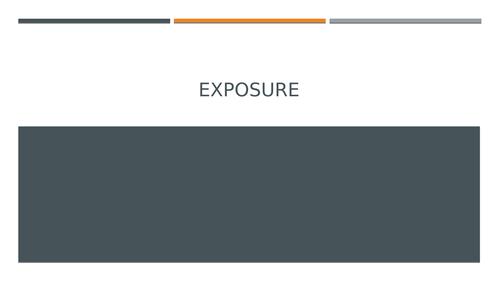 Exposure L1