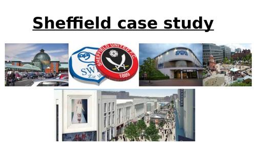 Sheffield case study (GCSE Geography)