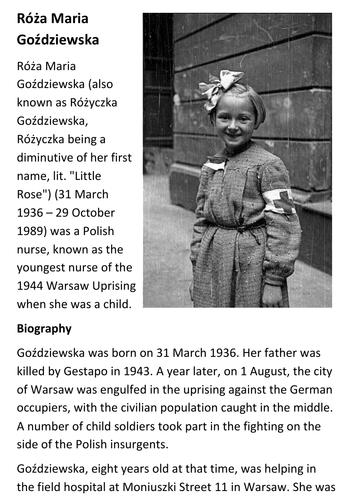 Róża Maria Goździewska Handout