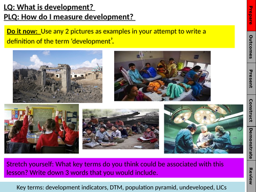 Geography unit - Development and NGOs