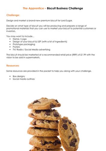 The Apprentice - Biscuit Challenge