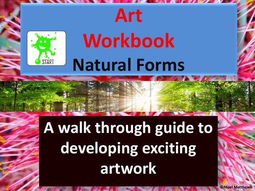 Art Workbook / Worksheets - Nature