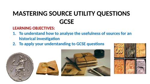 GCSE MASTERING SOURCE UTILTY QUESTIONS