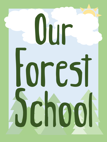 Outdoor Learning Display Bundle (Forest Themed)
