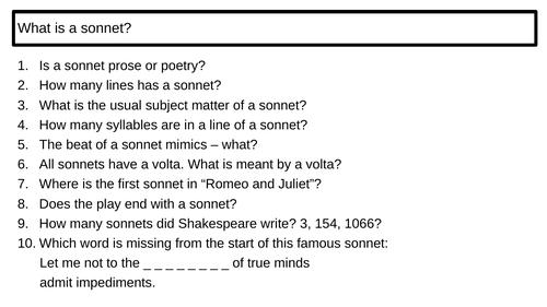 """Romeo and Juliet"" Act 1 scene 4 First Conversation First Kiss Sonnet"
