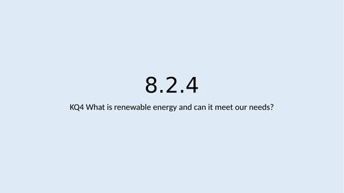 KS3 Resources L4: Renewable energy