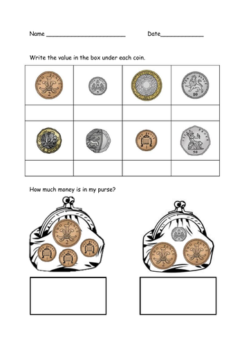 Coin Rcognition UK pounds