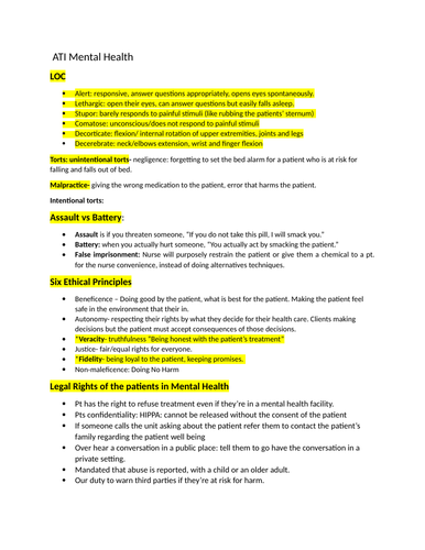 ECPI University Notes_for_ATI_Mental_Health