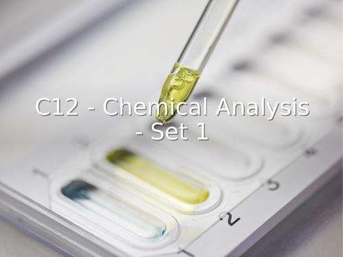AQA GCSE Chemistry (9-1) - Chemical Analysis (C12) REVISION LESSON