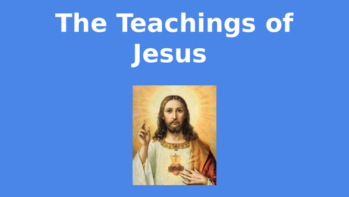 Christianity - Teachings of Jesus Right/Wrong