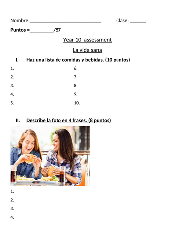 GCSE Worksheets package