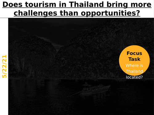 Does tourism in Thailand bring more challenges than opportunities?