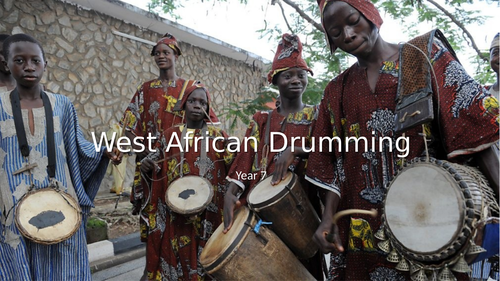 KS3 West African Drumming