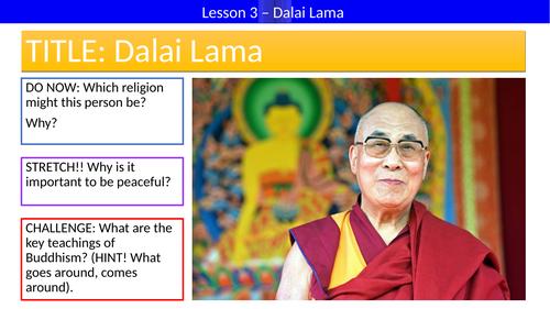 KS3 - Inspirational Leaders // Dalai Lama