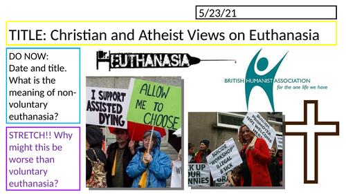 Edexcel Religious Studies Spec B // Euthanasia