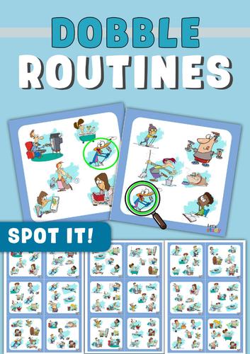 Spot it! Dobble ! Spy! Seek it! Routines Game
