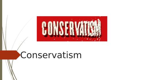 Ideology, Conservatism