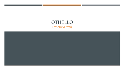 Othello L18